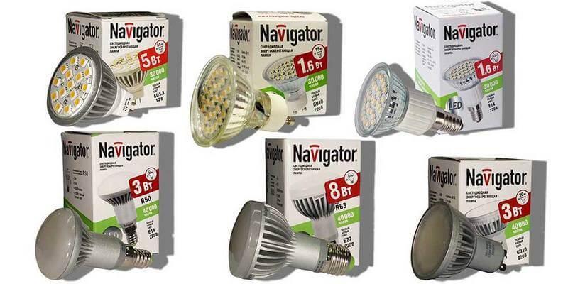 Лампочки для точечных светильников