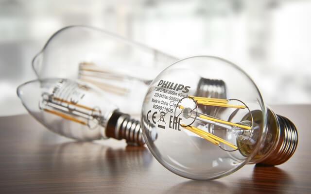 лампа Fila с филаментными светодиодами