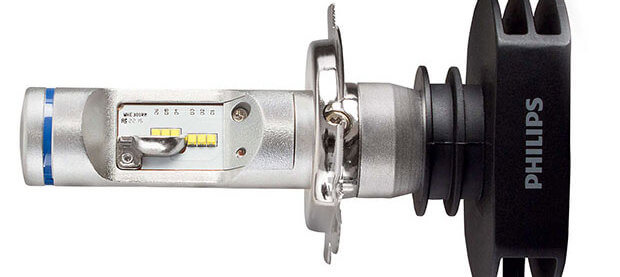 Автомобильная лампа philips ultinon h4