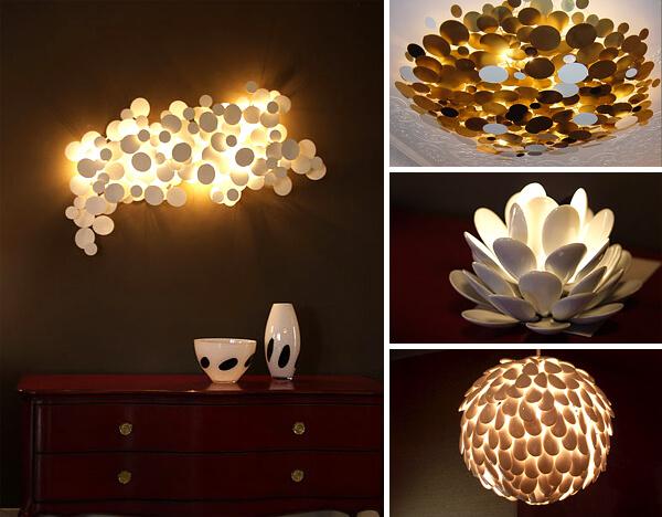 Дизайнерские потолочные светильники