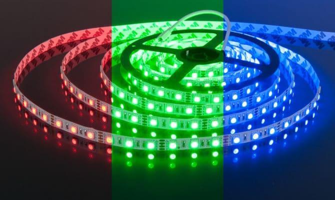 RGB, LED