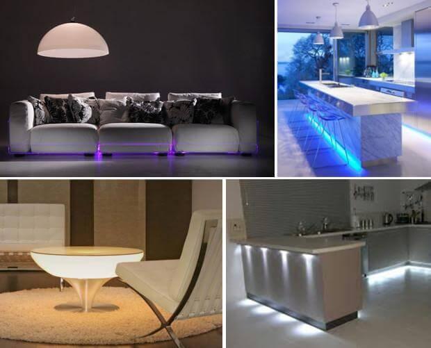 Светодиодная подсветка в мебели