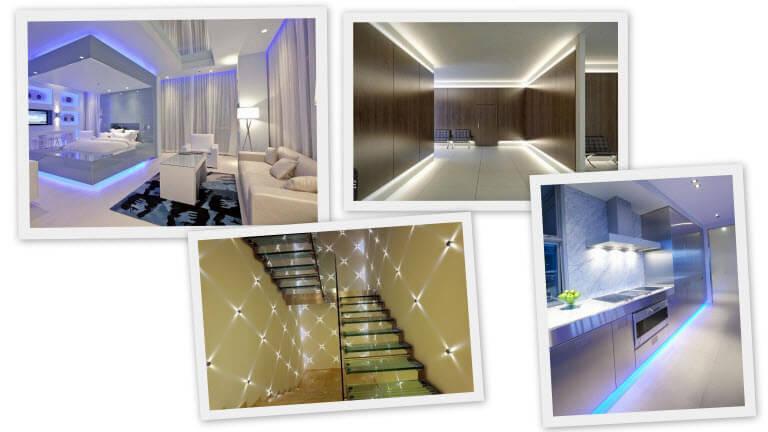 Светодиодное освещение в доме