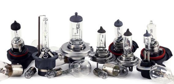 Технические характеристики галогенновых ламп для авто